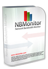 NBMonitor tracks Internet bandwidth usage (upload and downloads) and shows process names initiated network connections. It displays real-time details about your network connections and network adapter's bandwidth usage.